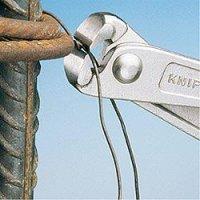 Knipex cęgi zbrojarskie /chromowane/